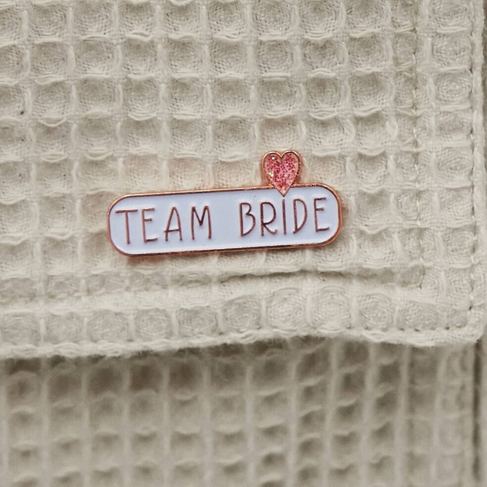 TEAM BRIDE Enamel Pin Badge