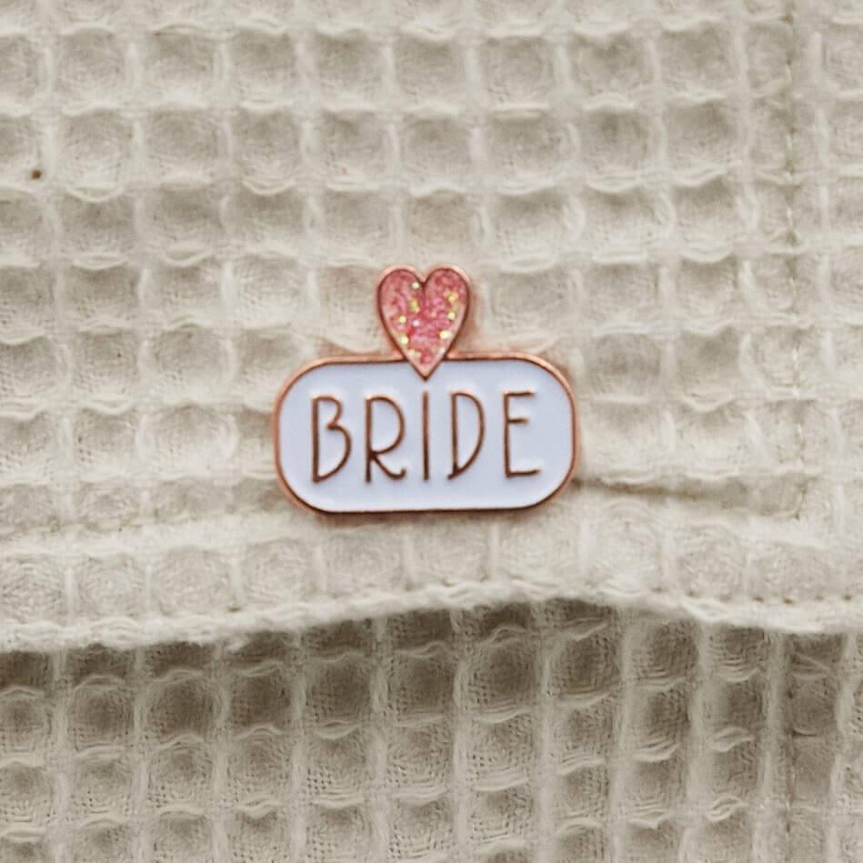 BRIDE Enamel Pin Badge