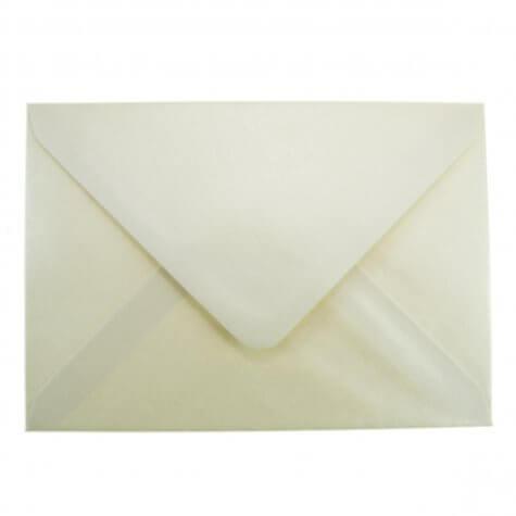 Vintage Ivory C6 Envelope