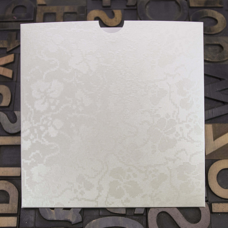Enfolio Wallet 146mm Sq - Broderie Ivory