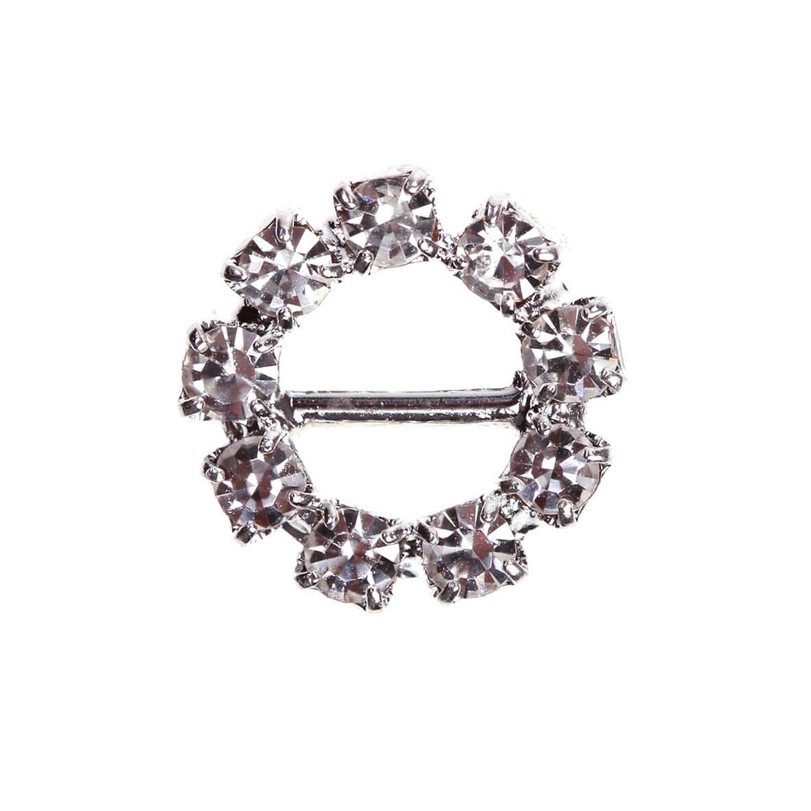 Circle Diamante Buckle (Mini)