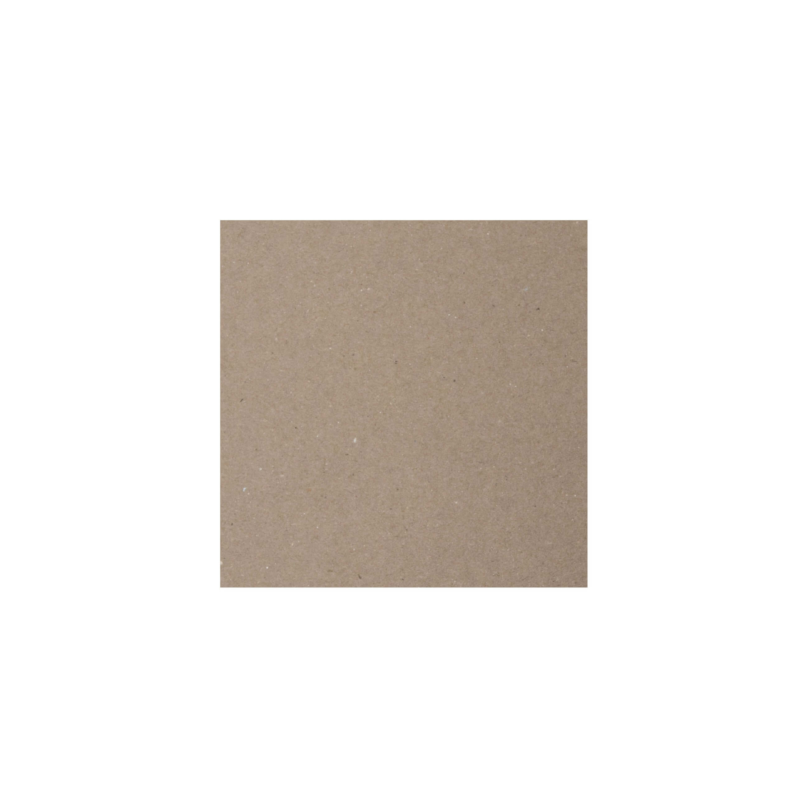 Cardstock 100mm Square - Kraft