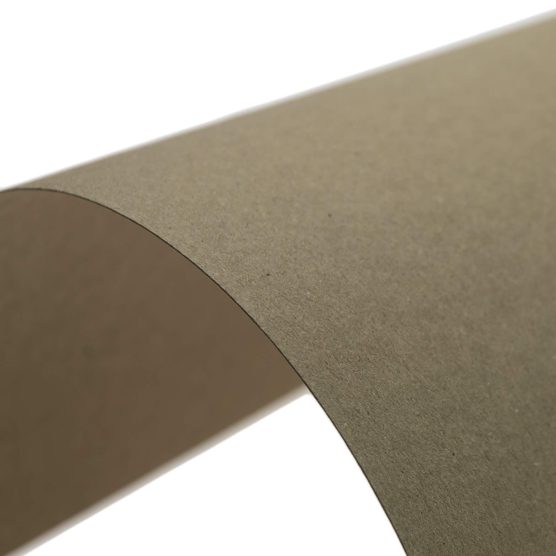 Cardstock A4 Sheet - Kraft - Swatch