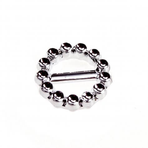 Circle Faux Diamante Buckle (20mm)
