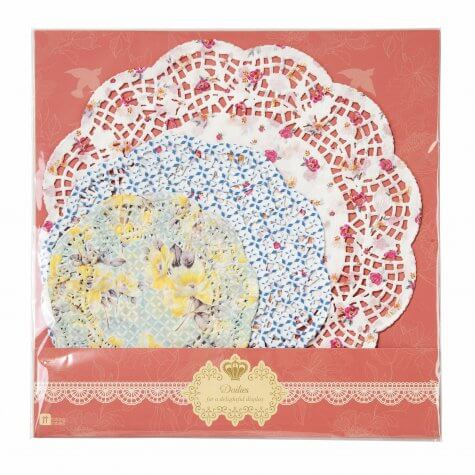 'Utterly Scrumptious' Paper Doilies
