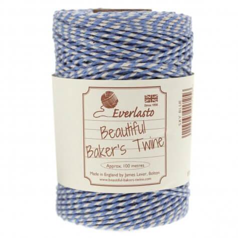 Sky Blue Baker's Twine
