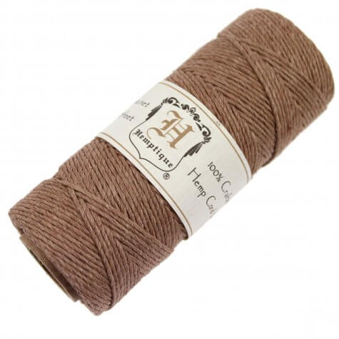 Hemptique Hemp Cord - Light Brown