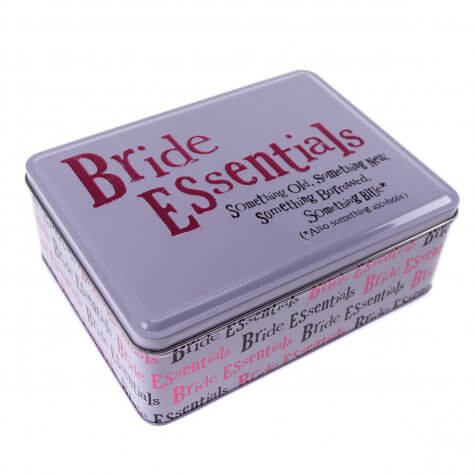 Bride Essentials Storage Tin