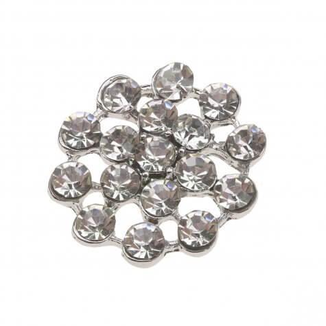 Silver Izzy Diamante Embellishment