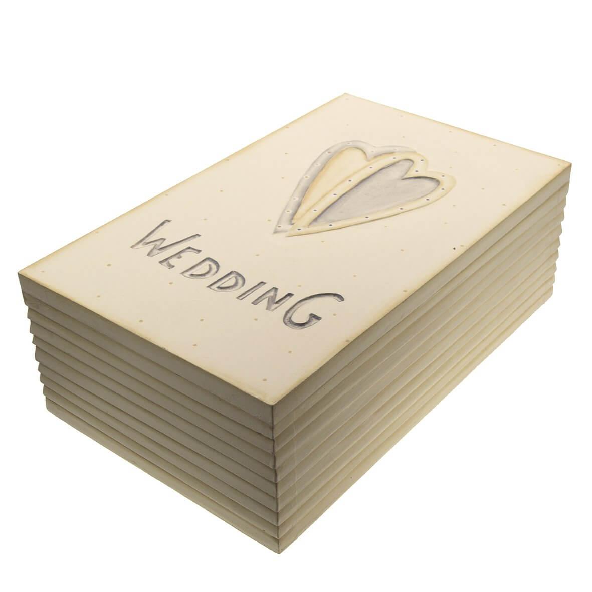 Wedding Two Hearts Memory Box