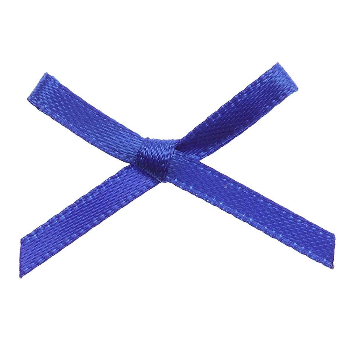 Royal Blue Bows 3mm