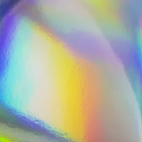 Mirri Rainbow Holographic A4 Card