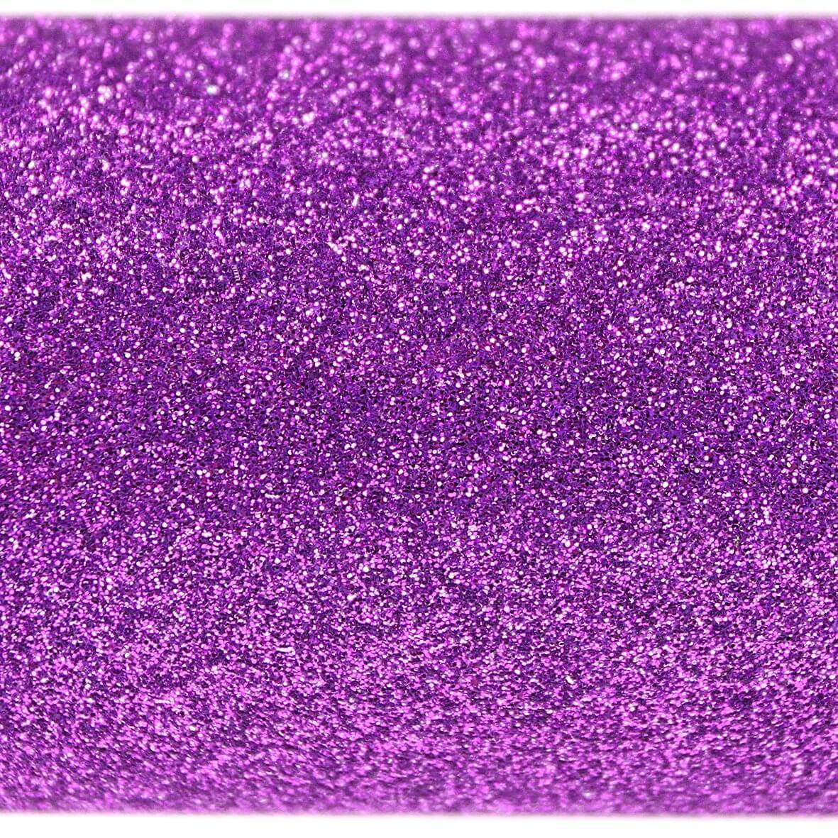 Purple A4 Glitter Paper - Close Up