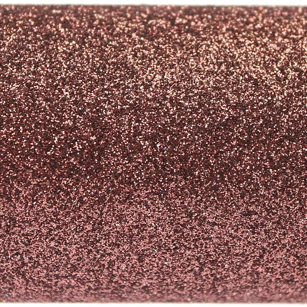 Chocolate Brown A4 Glitter Paper - Close Up