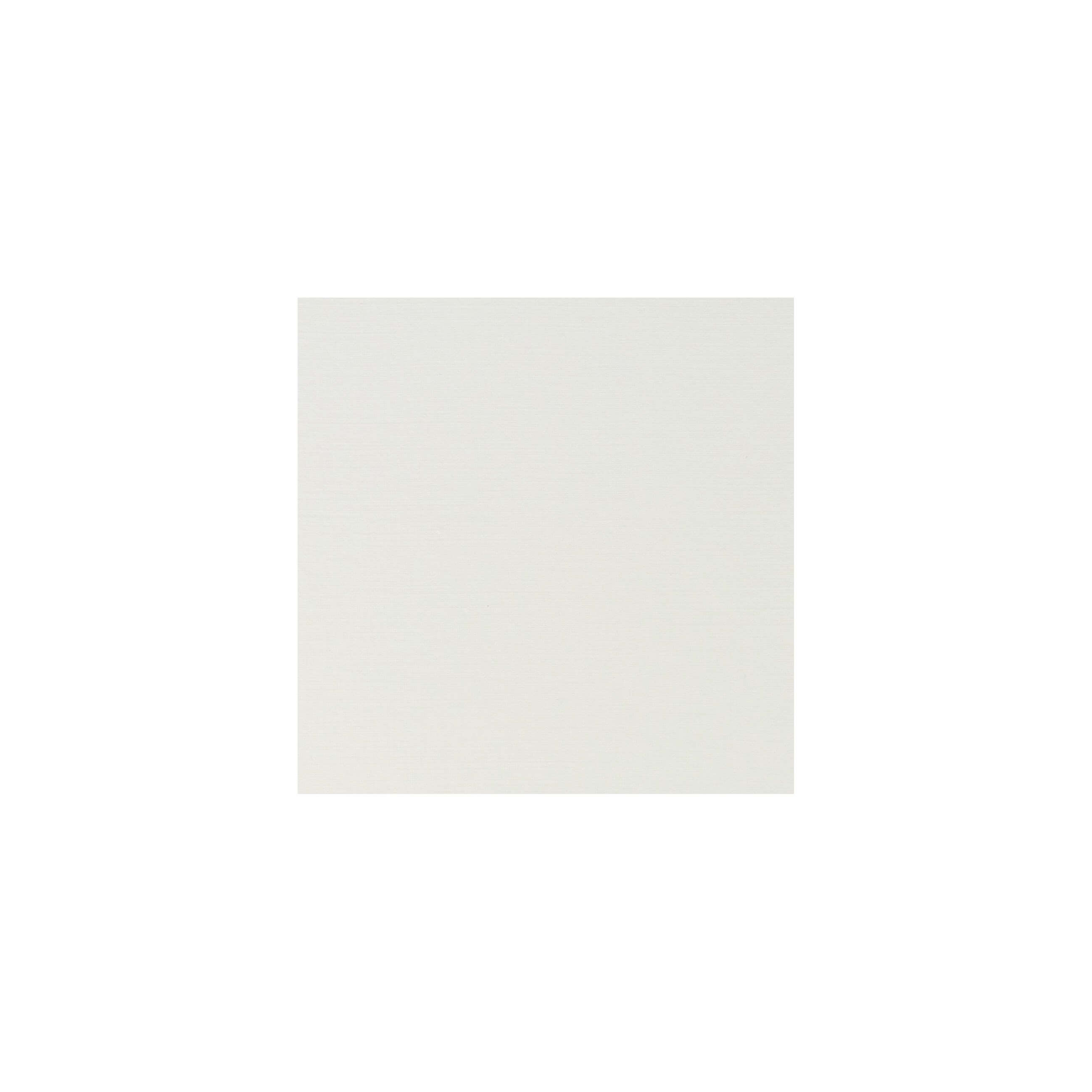 Cardstock 100mm Square - Silkweave Ivory