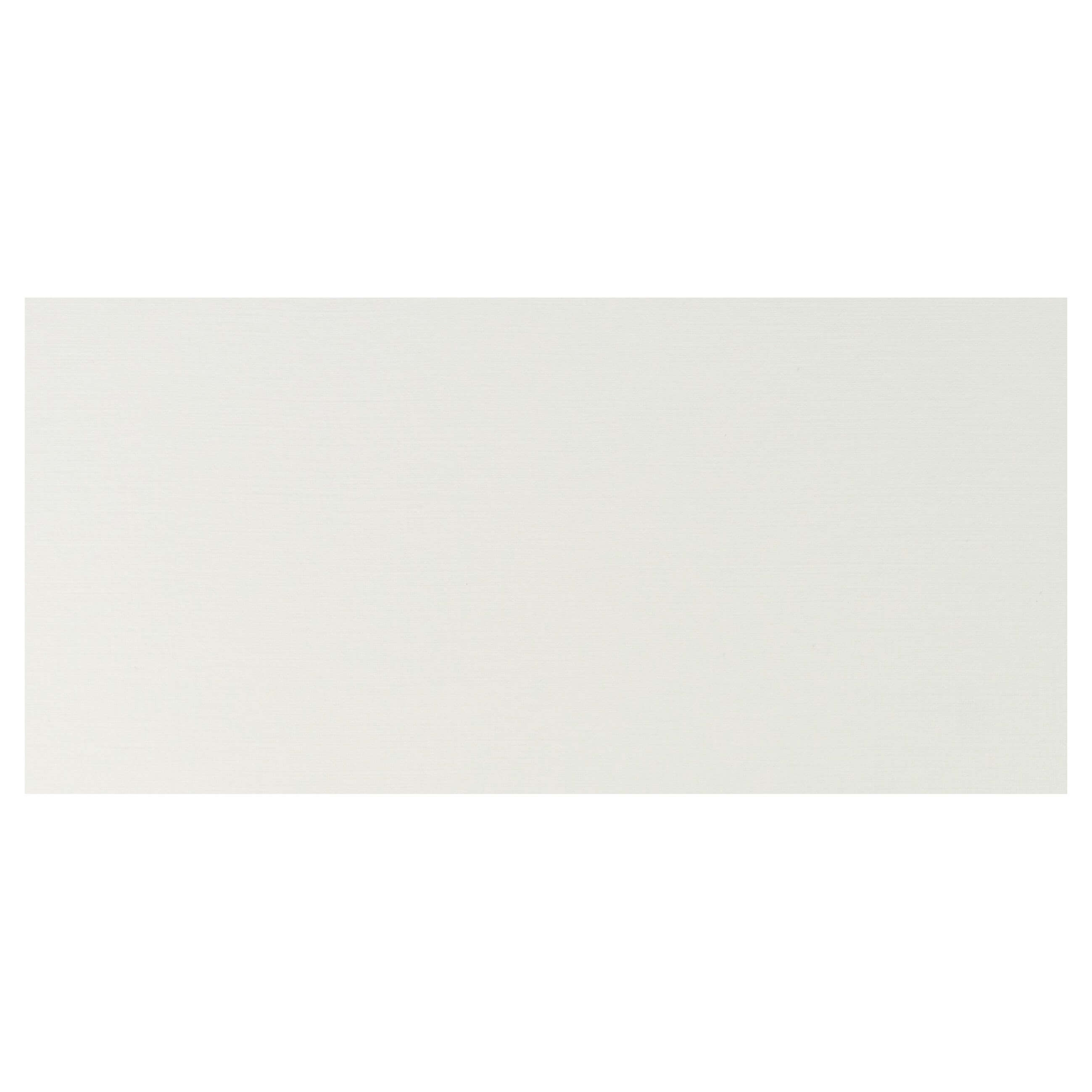 Cardstock DL Base - Silkweave Ivory