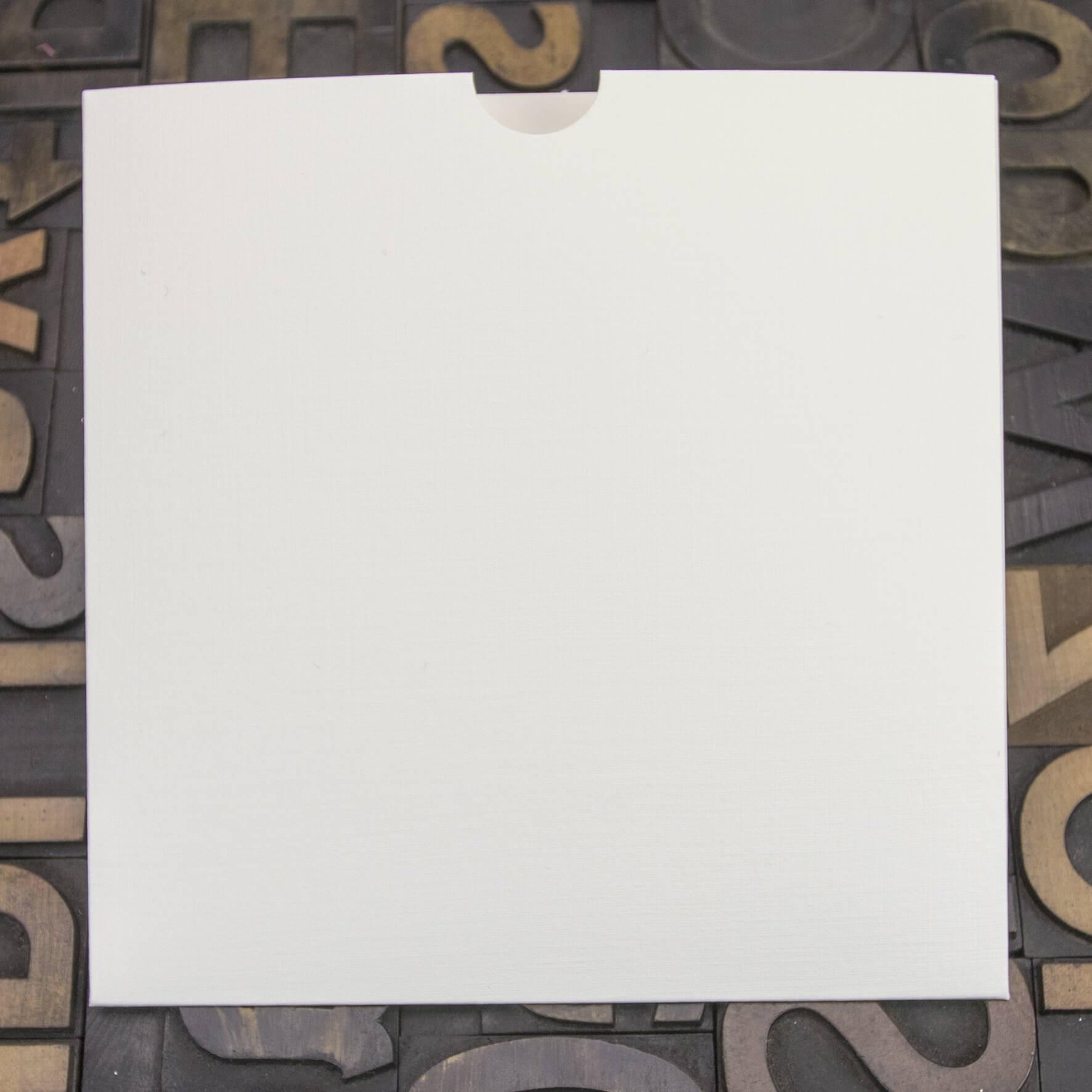 Enfolio Wallet 146mm Sq - Silkweave Ivory