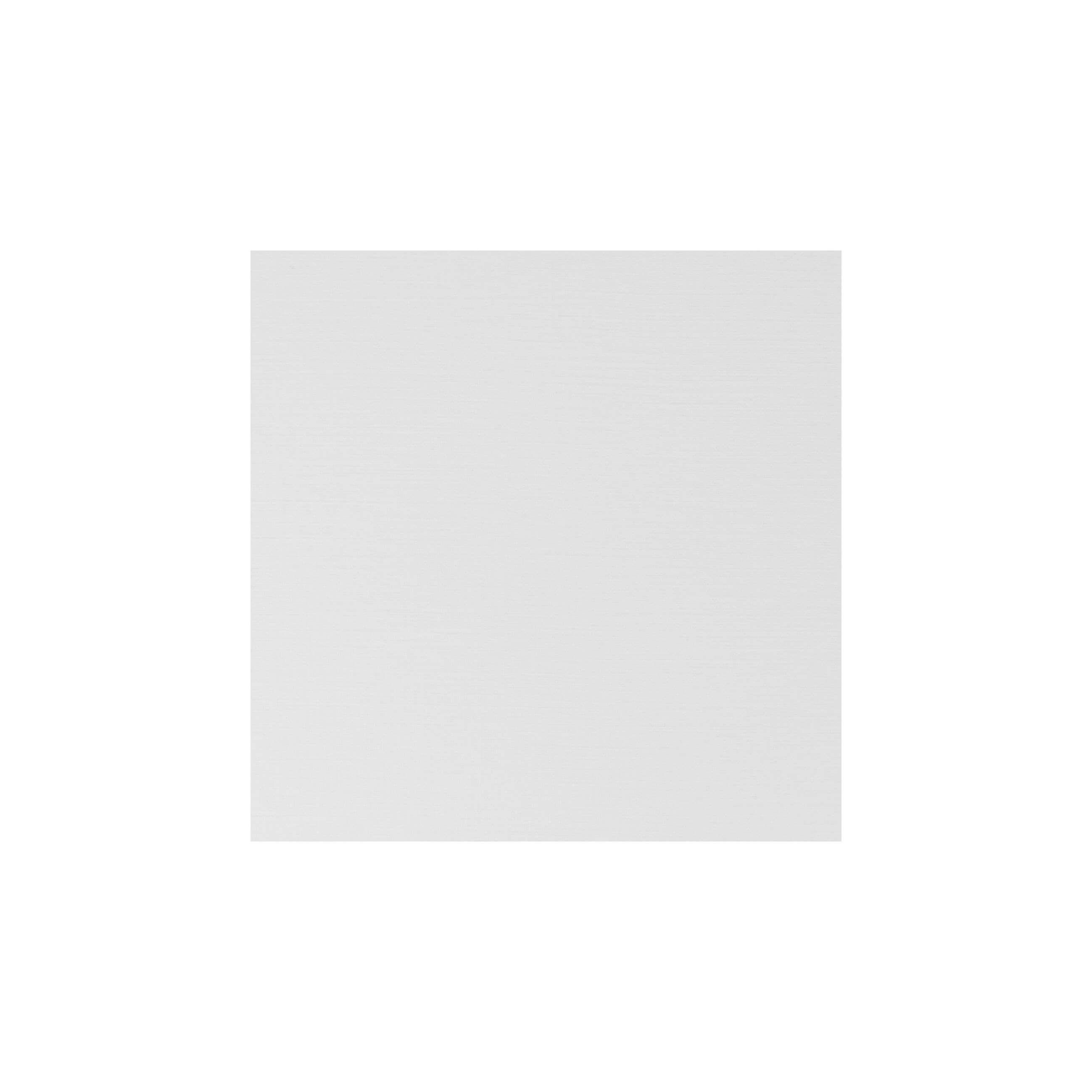 Cardstock 119mm Square - Silkweave White