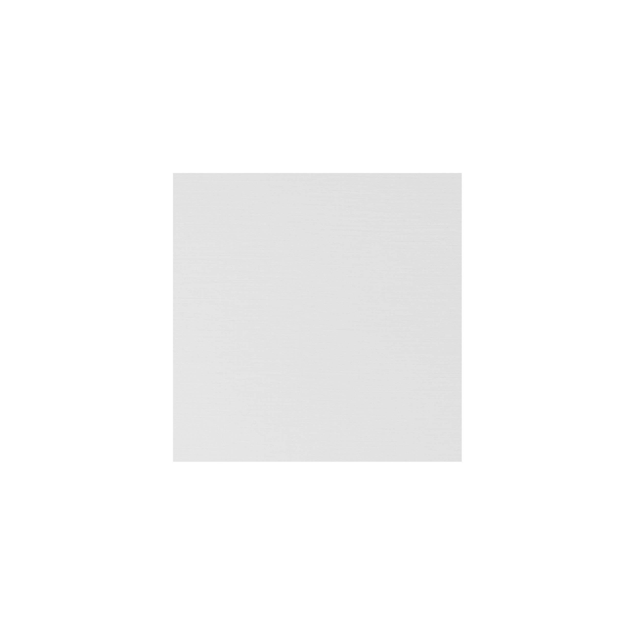 Cardstock 100mm Square - Silkweave White
