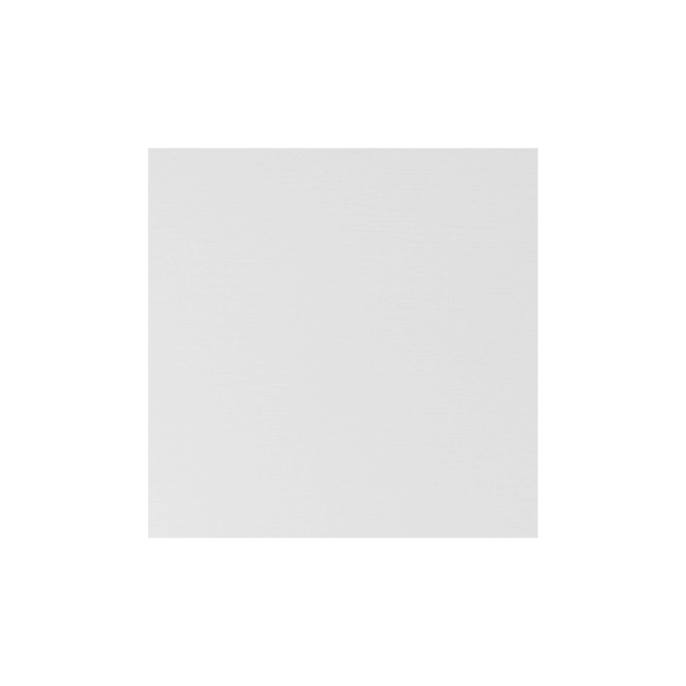 Cardstock 125mm Square - Silkweave White
