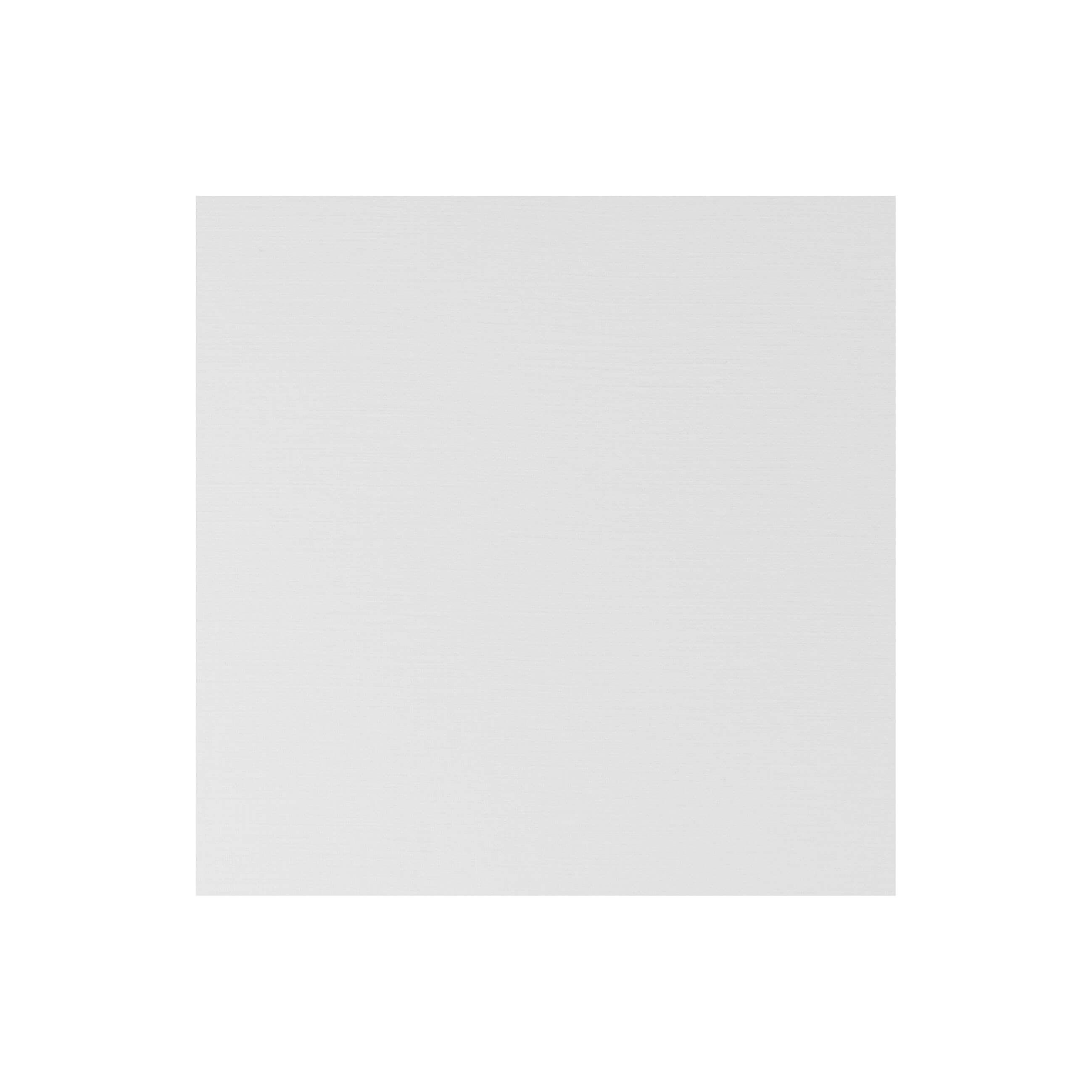 Cardstock 141mm Square - Silkweave White