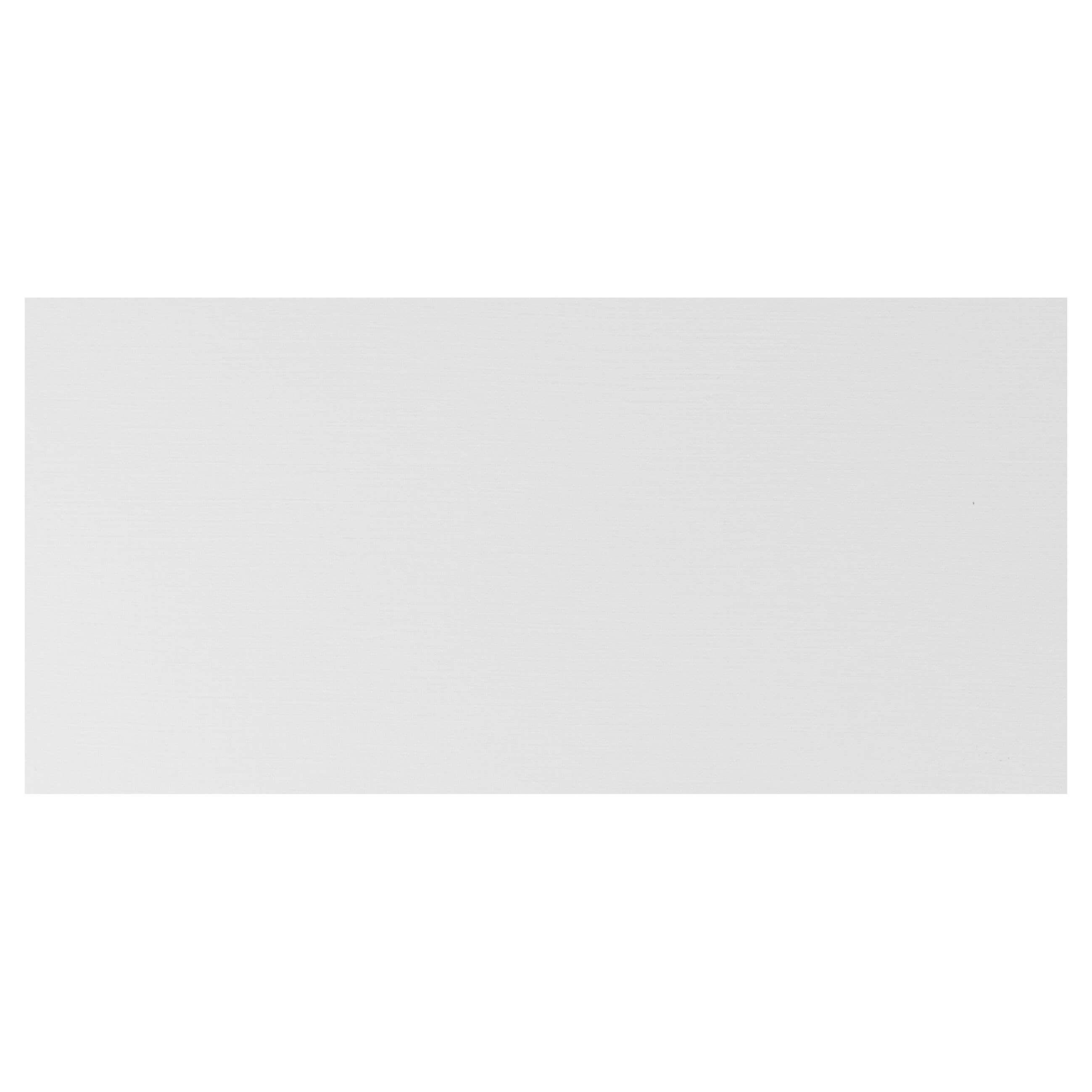 Cardstock DL Base - Silkweave White