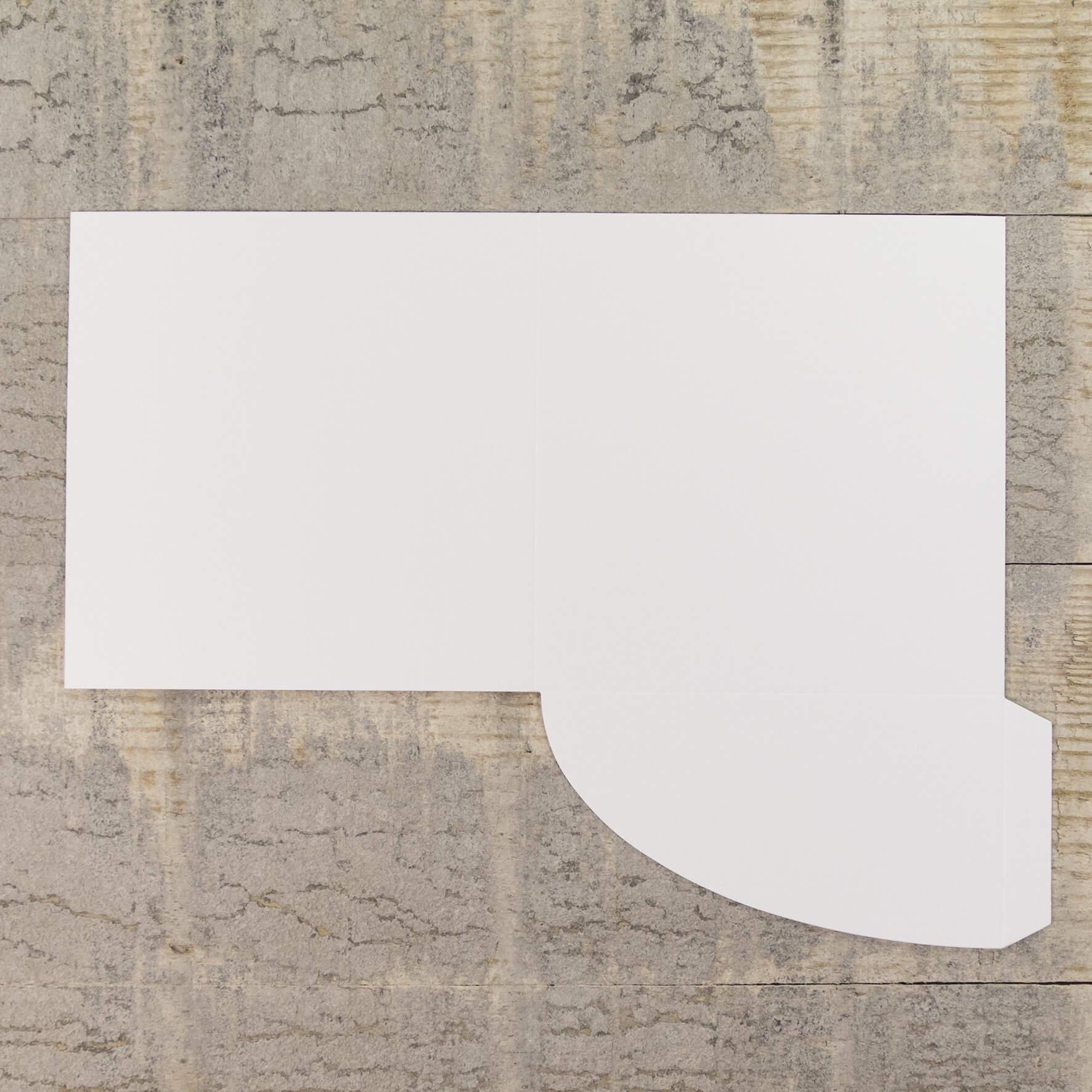 Enfolio Pocket Card - Silkweave White