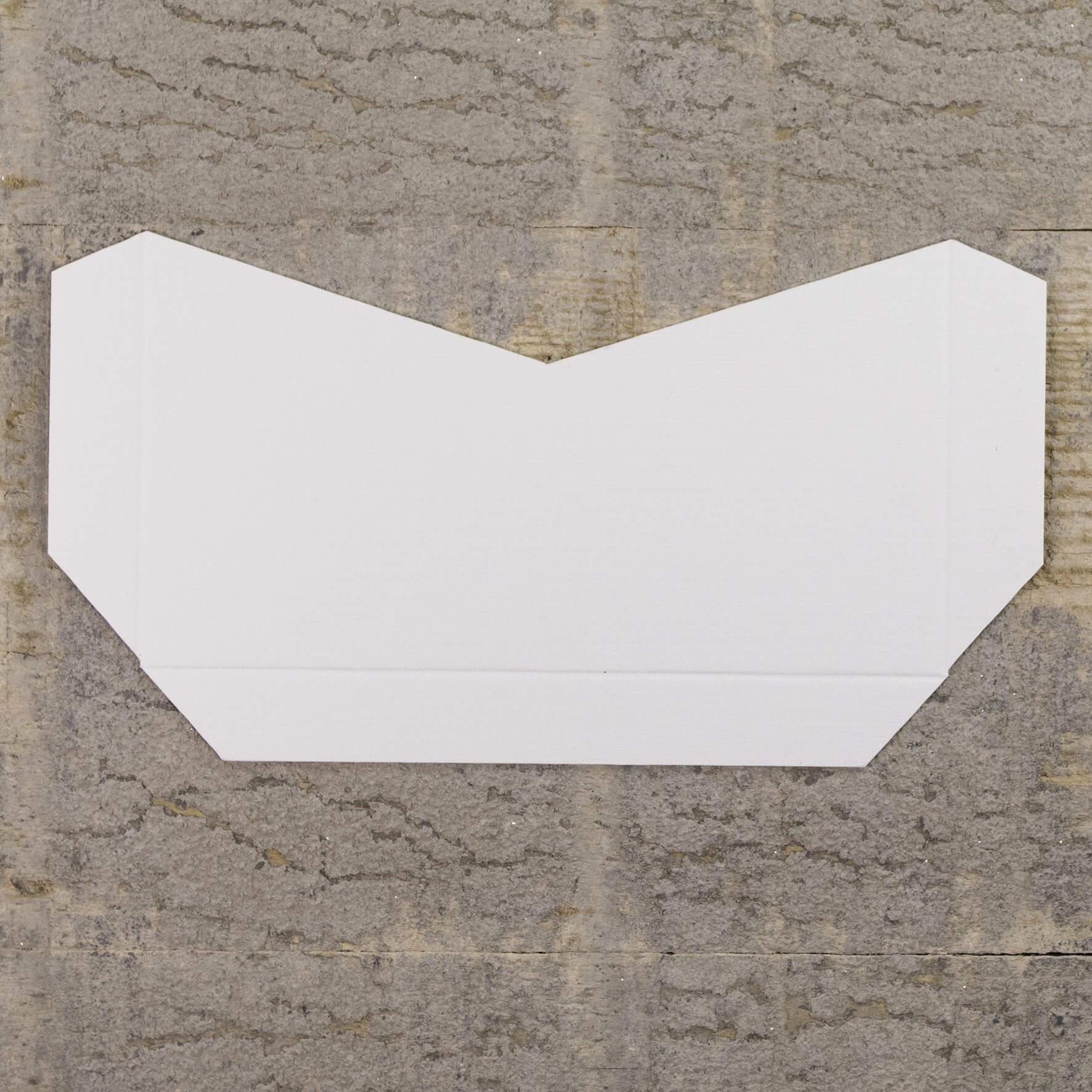 Enfolio Tentfold (Lg Sq) Add On Pocket - Silkweave White