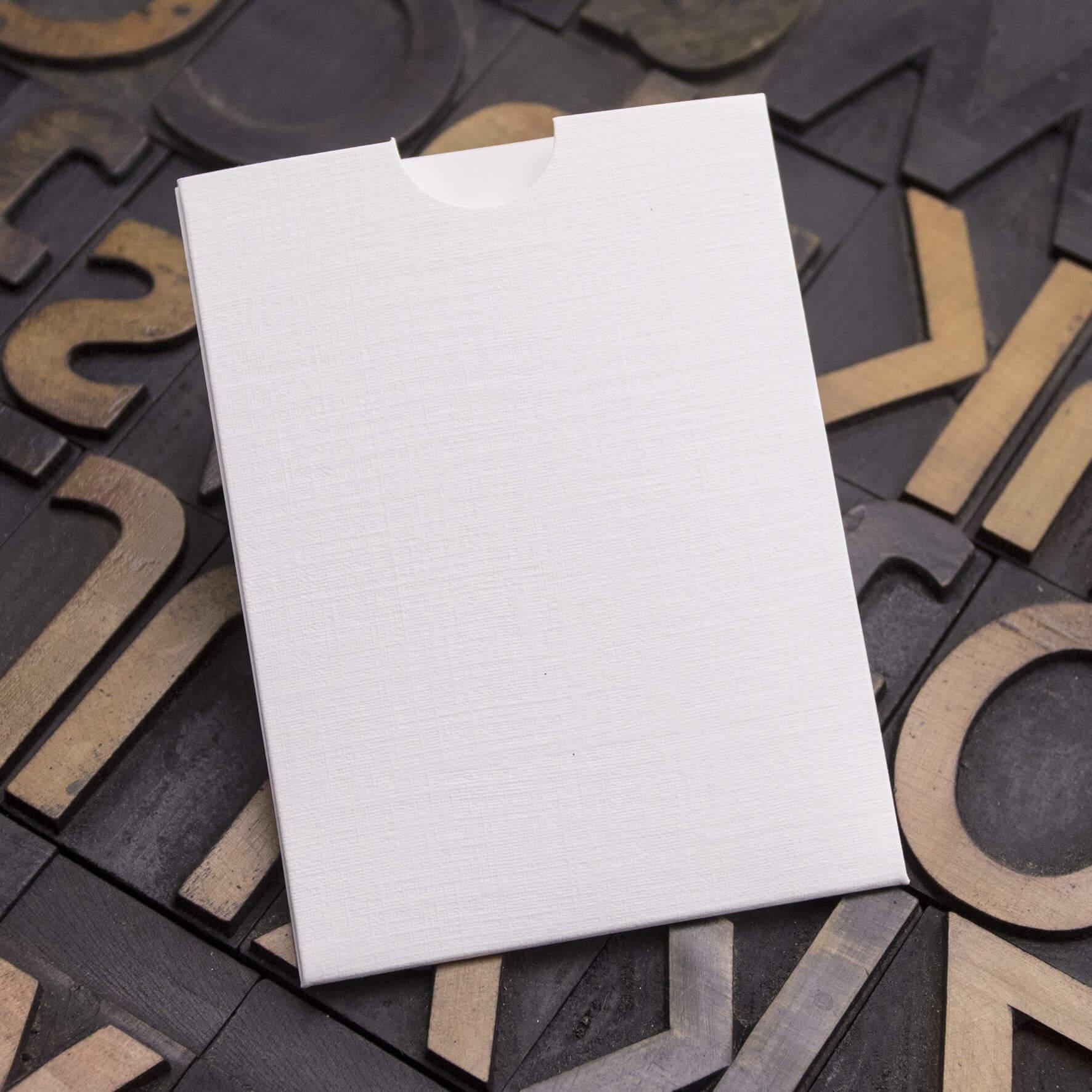 Enfolio Wallet Mini - Silkweave White
