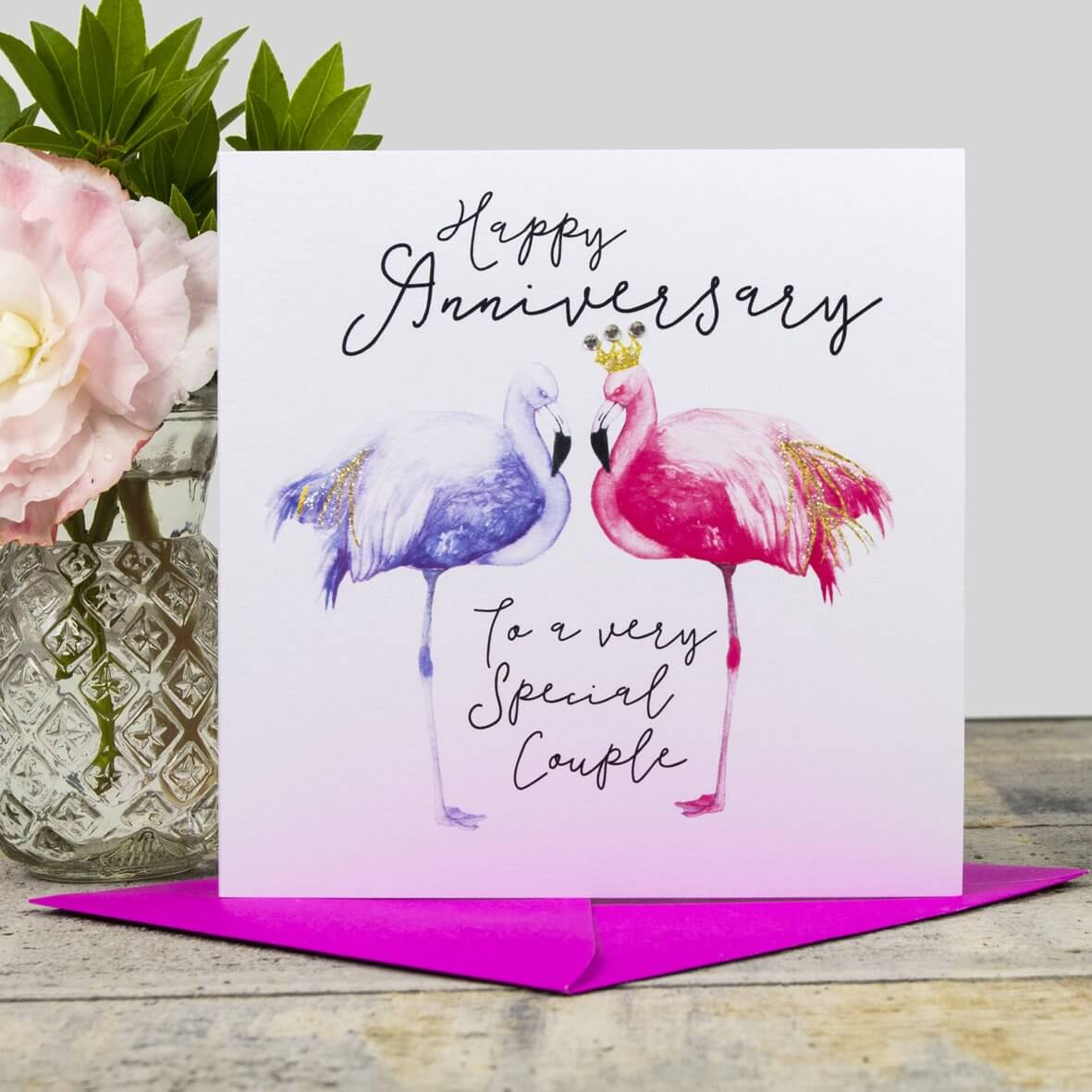 Happy Anniversary Card - To a very Special Couple