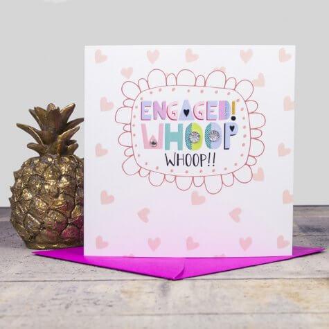 Engaged - Whoop Whoop Card