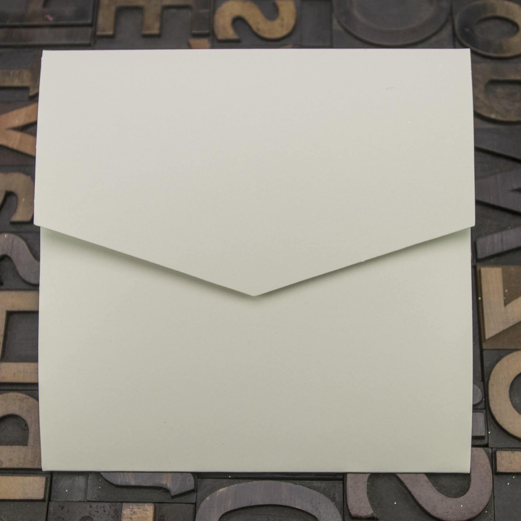 Enfolio Pocketfold Large Square - Ivory Sparkle