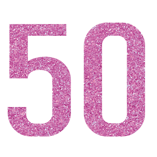 50th birthday cards 5 to choose from.