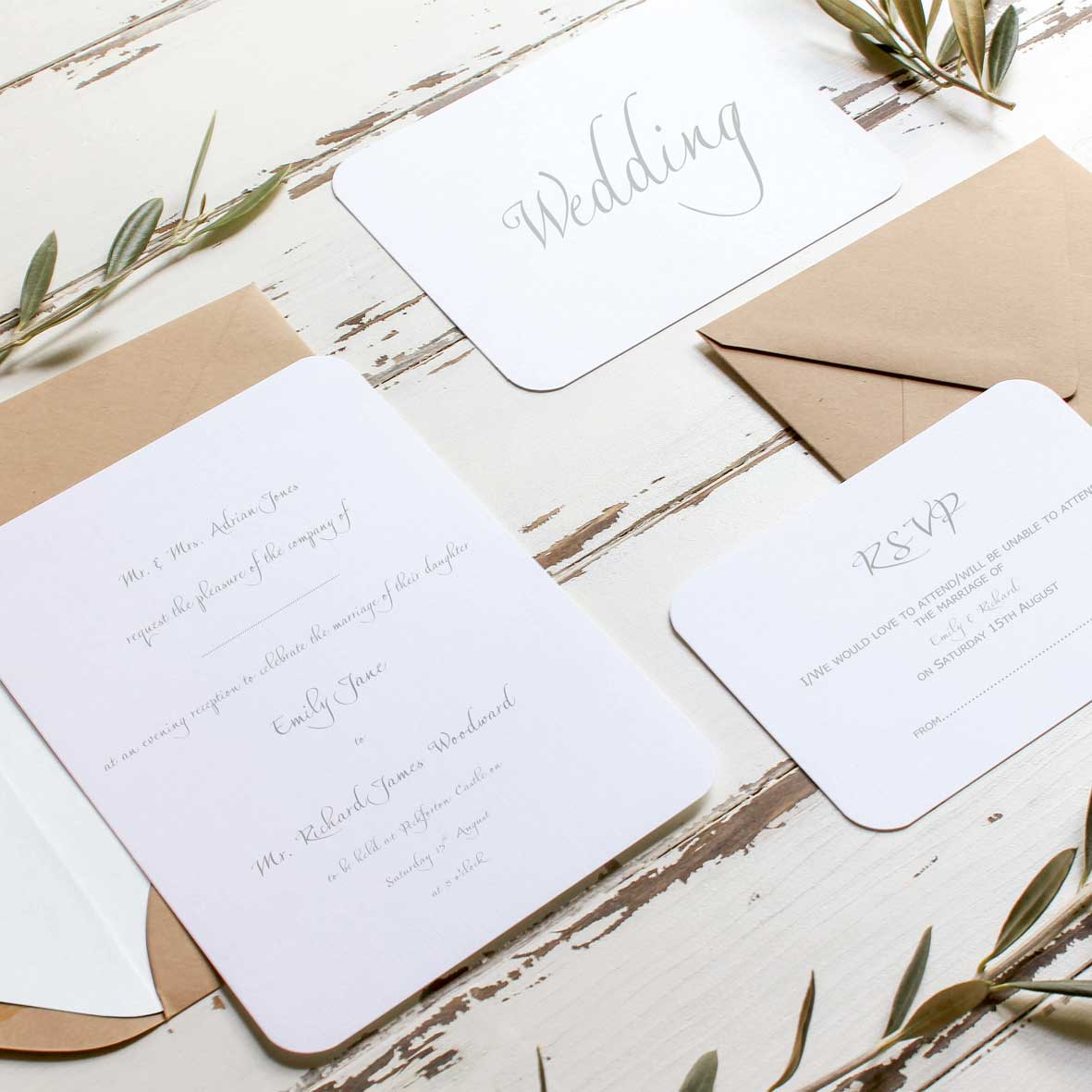 Wedding Invitations Craft DIY And