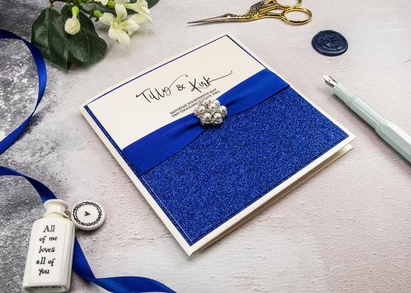 Pocket Card Wedding Invitation Tutorial and Recipe