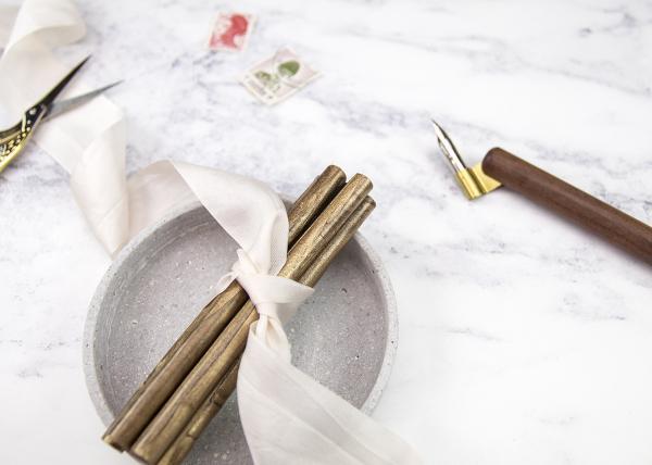 DIY Wax Seal Wedding Invitations