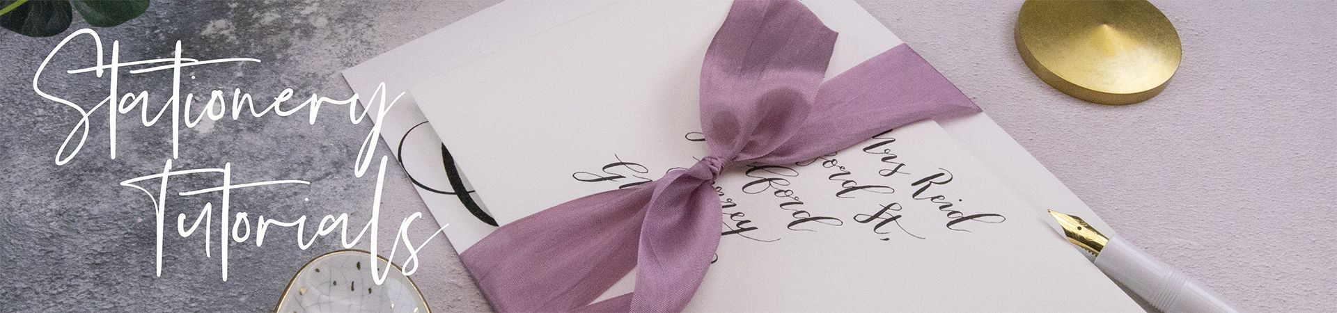 Wedding Stationery Tutorials