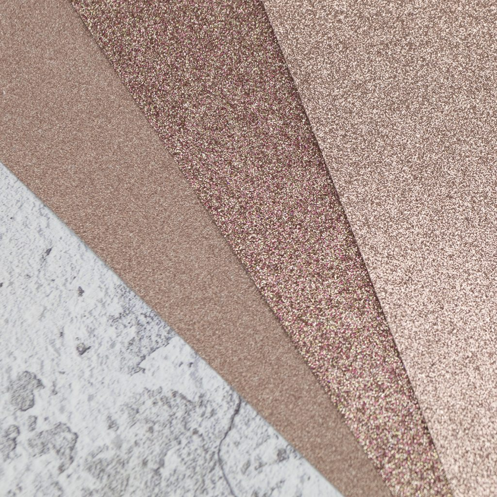 Rose Gold Glitter Paper