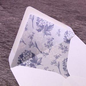 Hortensia Envelope Liner.