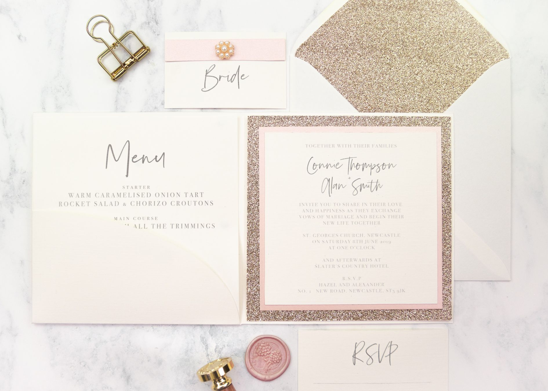 Don't come unstuck…..find the right glue for making your wedding stationery!