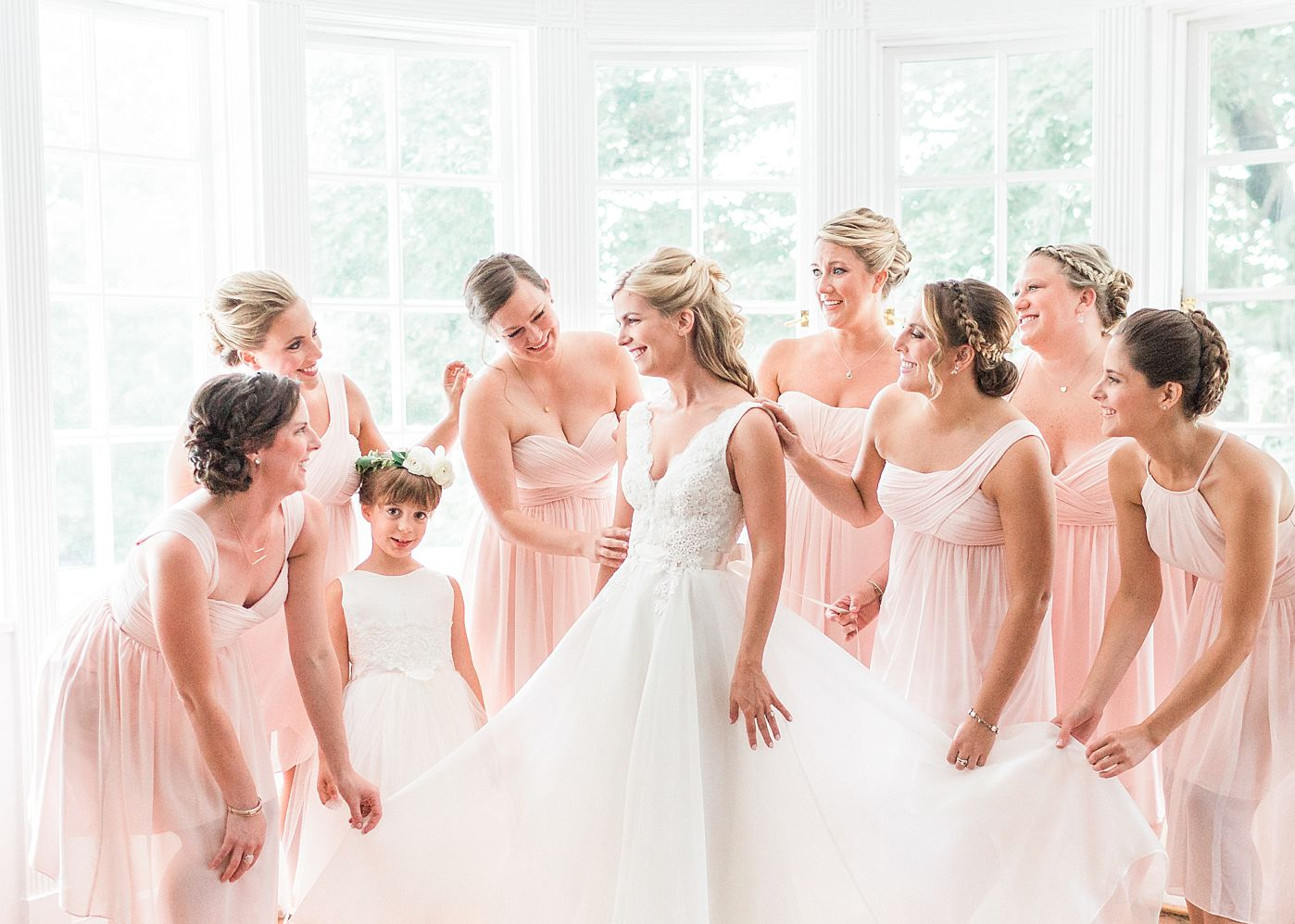 Wedding Colour Theme: Pale Pink - delicate and ethereal