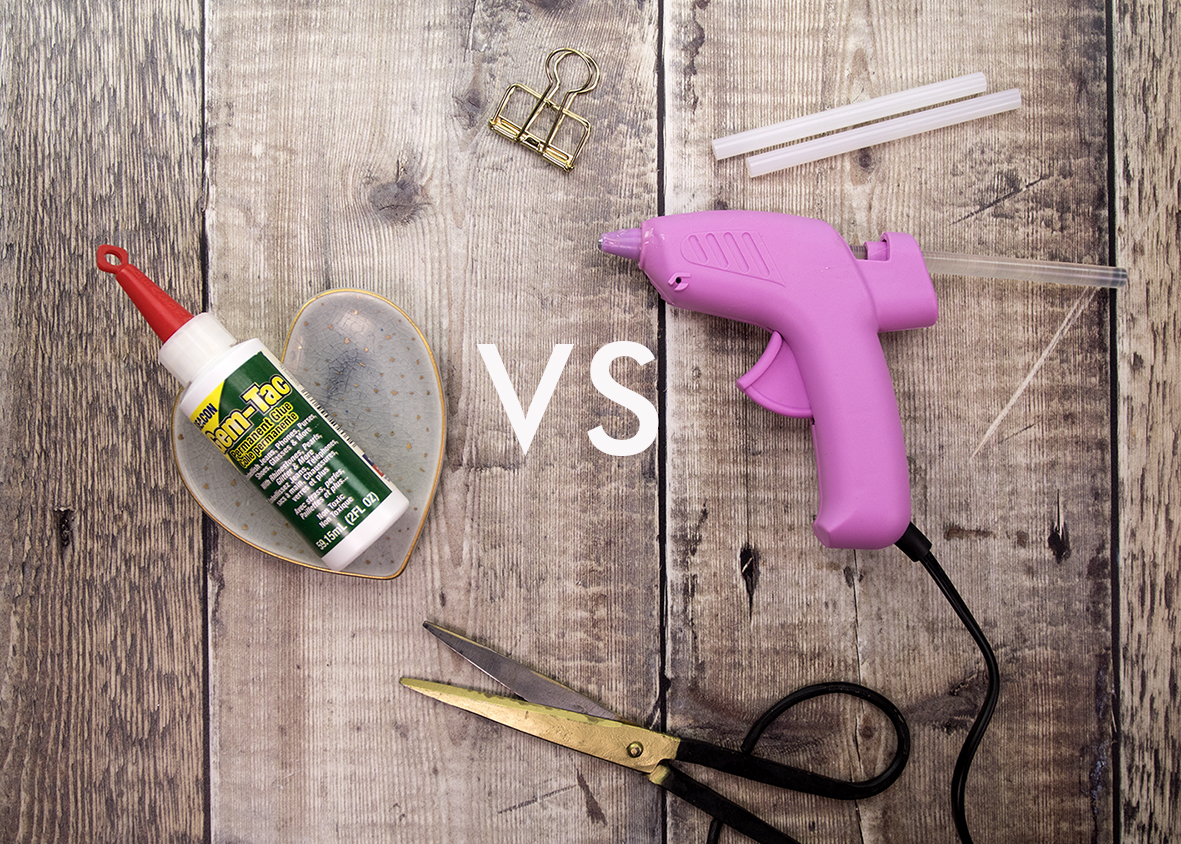 Using the Best Adhesive - Hot Melt Glue vs Gem-Tac