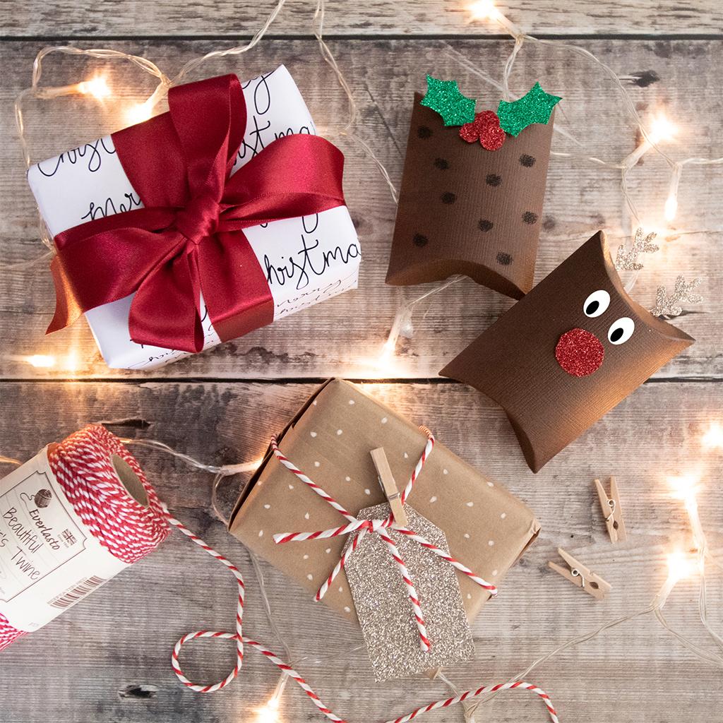 Christmas Gift Wrapping.