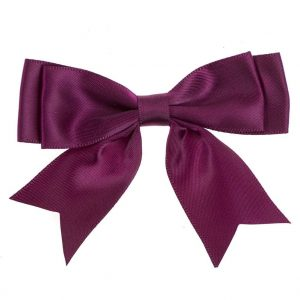 Double Dior bow with ribbon tails