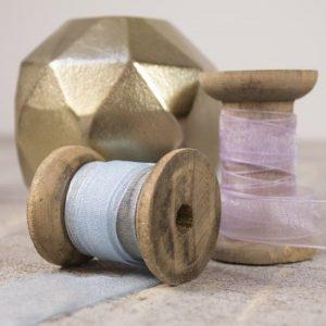 Delicate shades of berisfords organza ribbon