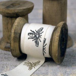 Gorgeous printed cotton ribbon
