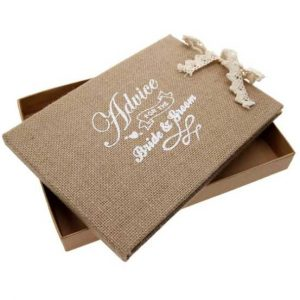 Advice for the Bride and Groom guest book