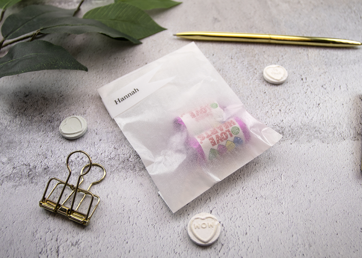 Glassine Wedding Favour Bags