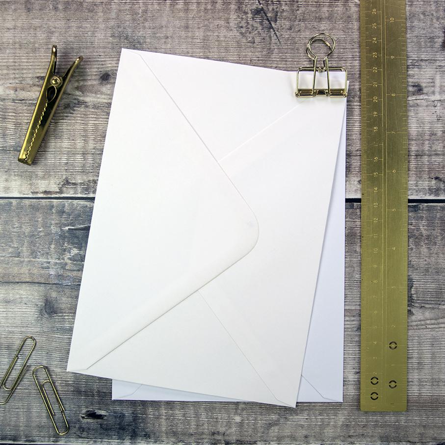 Small C5 Envelopes for DIY Wedding Invitations.