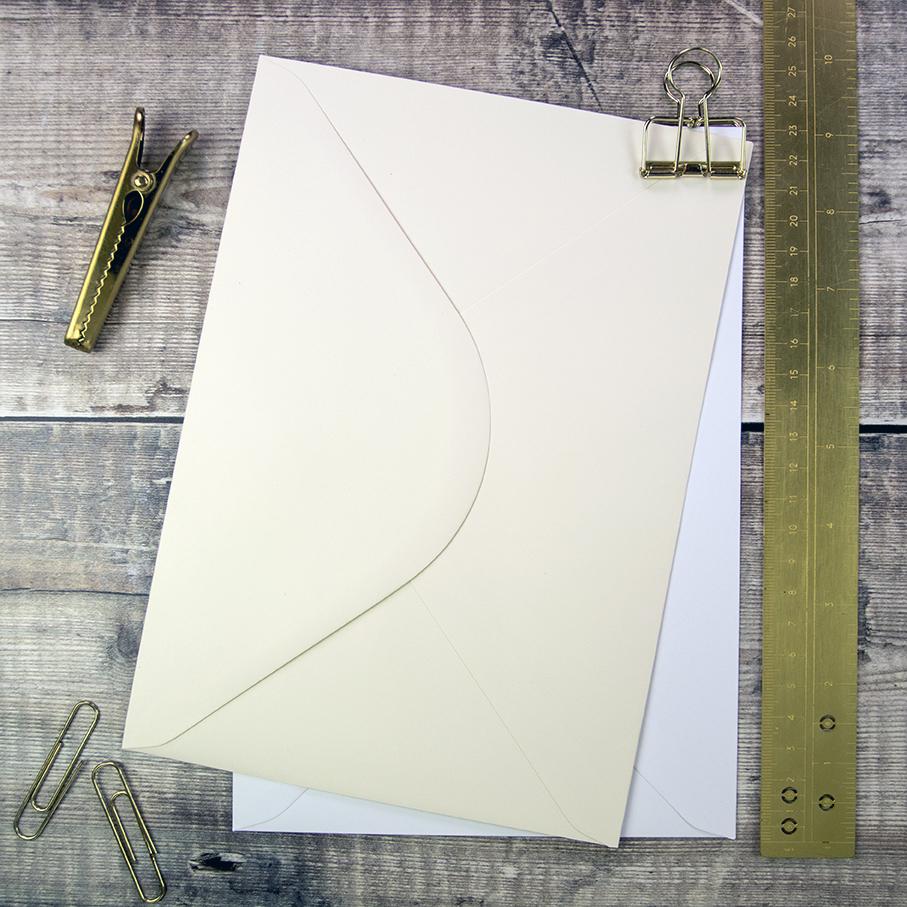 C5 Envelopes for Wedding Stationery.